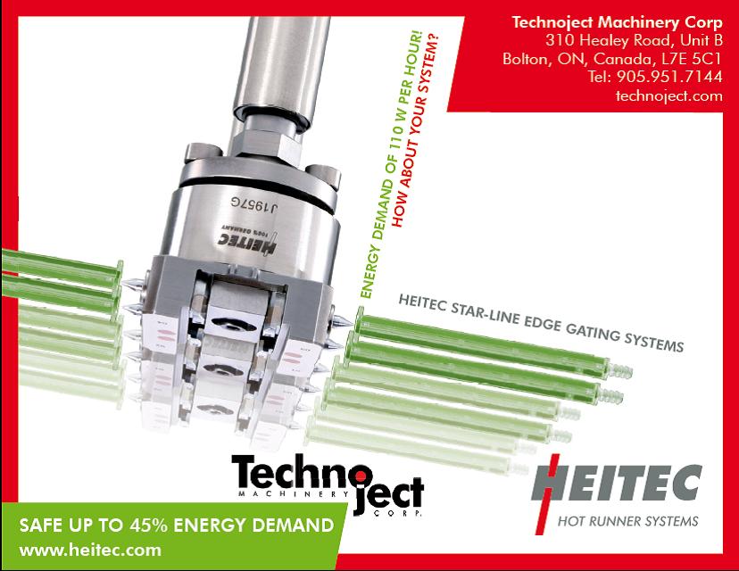 Technoject Energy Savings